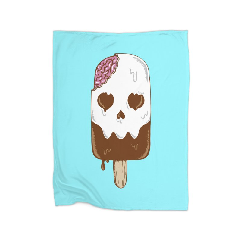 Skull Home Blanket by coffeeman's Artist Shop