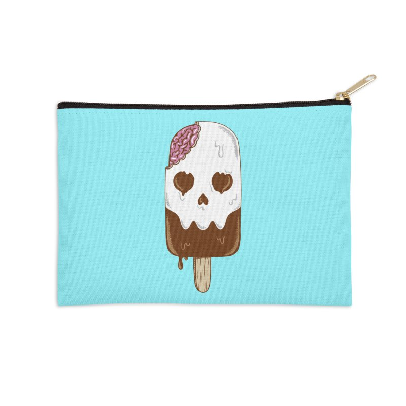 Skull Accessories Zip Pouch by coffeeman's Artist Shop