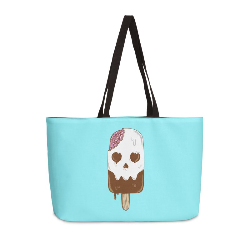 Skull Accessories Weekender Bag Bag by coffeeman's Artist Shop