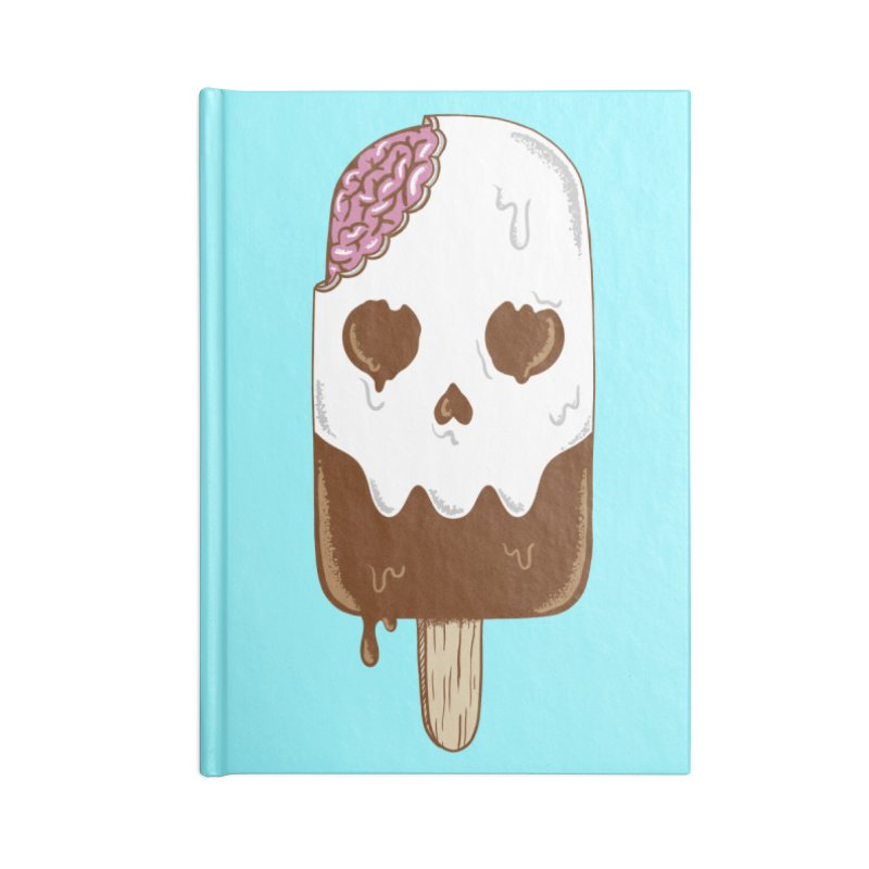 Skull Accessories Notebook by coffeeman's Artist Shop