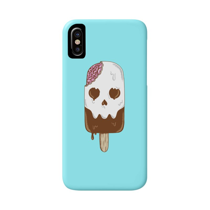 Skull Accessories Phone Case by coffeeman's Artist Shop