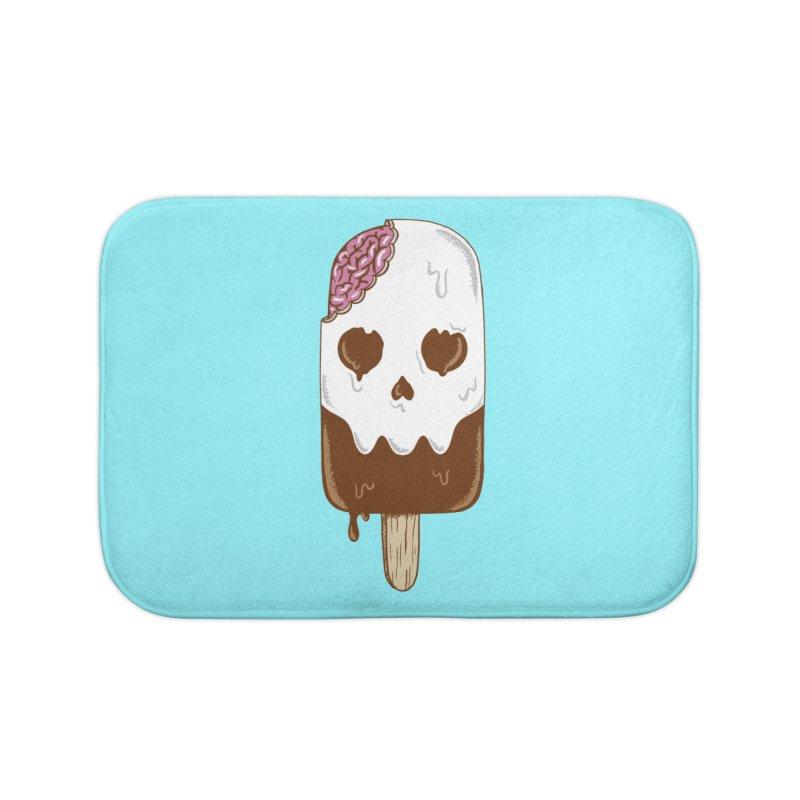Skull Home Bath Mat by coffeeman's Artist Shop