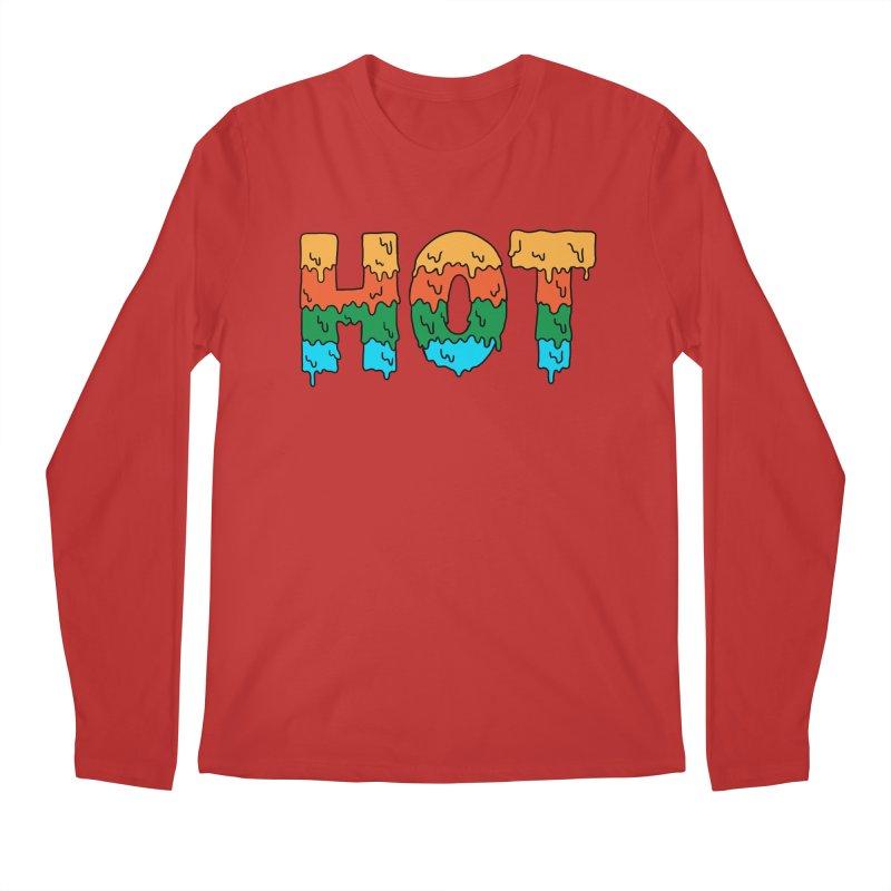 hot Men's Regular Longsleeve T-Shirt by coffeeman's Artist Shop