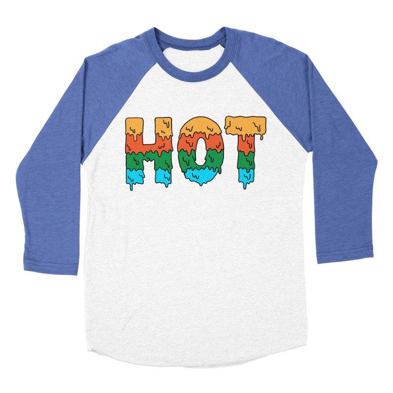 hot Women's Baseball Triblend Longsleeve T-Shirt by coffeeman's Artist Shop