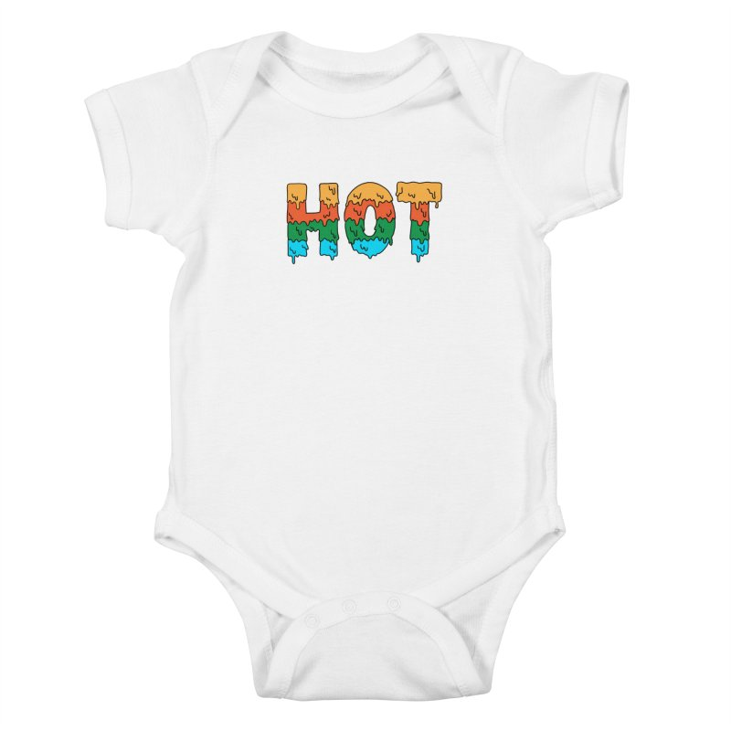 hot Kids Baby Bodysuit by coffeeman's Artist Shop