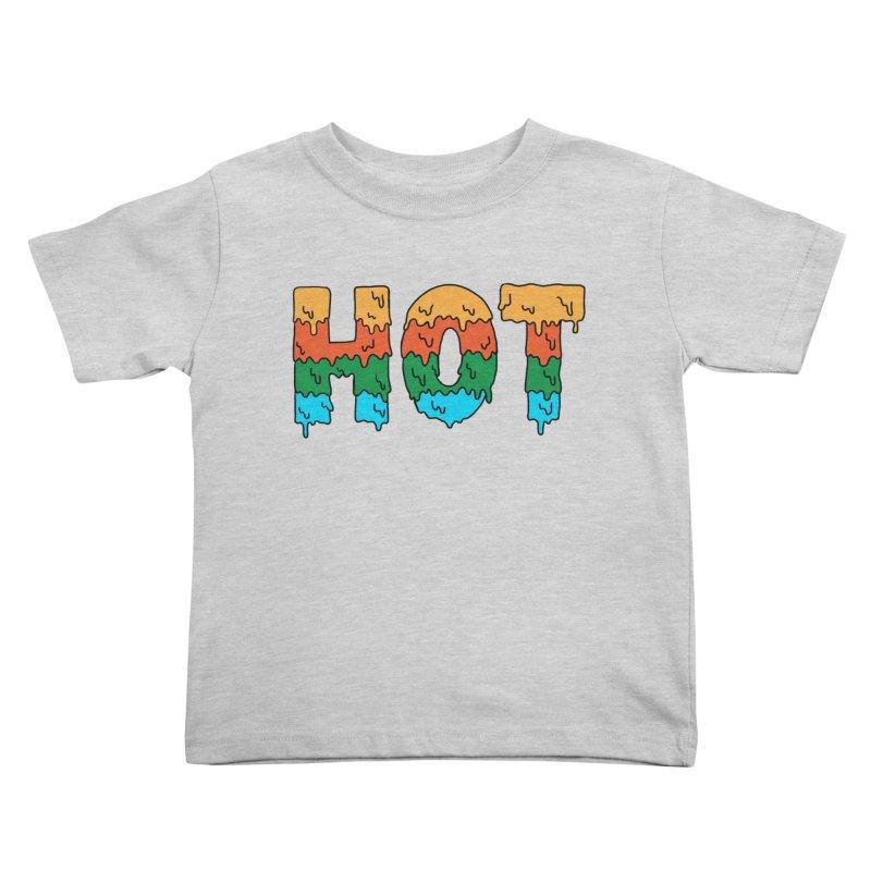 hot Kids Toddler T-Shirt by coffeeman's Artist Shop