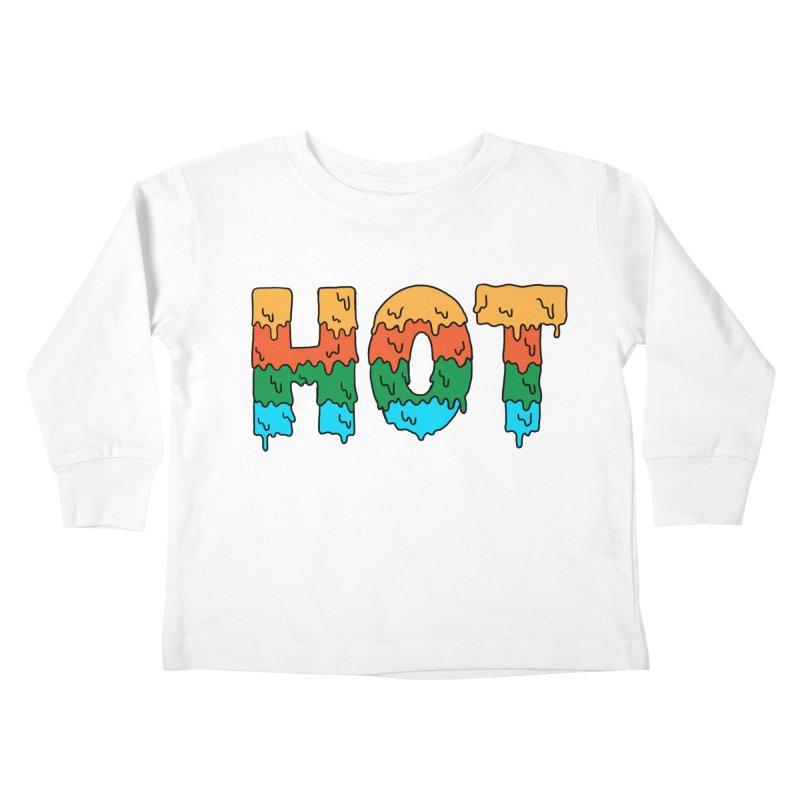 hot Kids Toddler Longsleeve T-Shirt by coffeeman's Artist Shop
