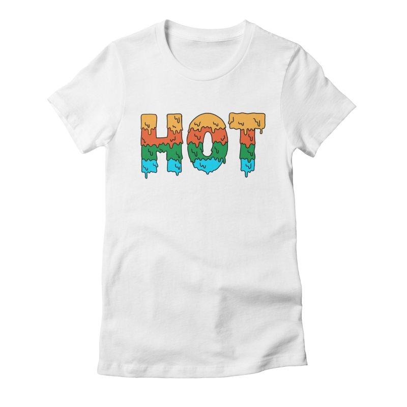 hot Women's Fitted T-Shirt by coffeeman's Artist Shop