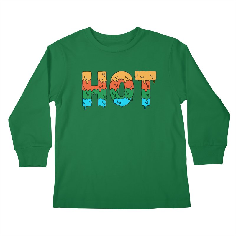 hot Kids Longsleeve T-Shirt by coffeeman's Artist Shop