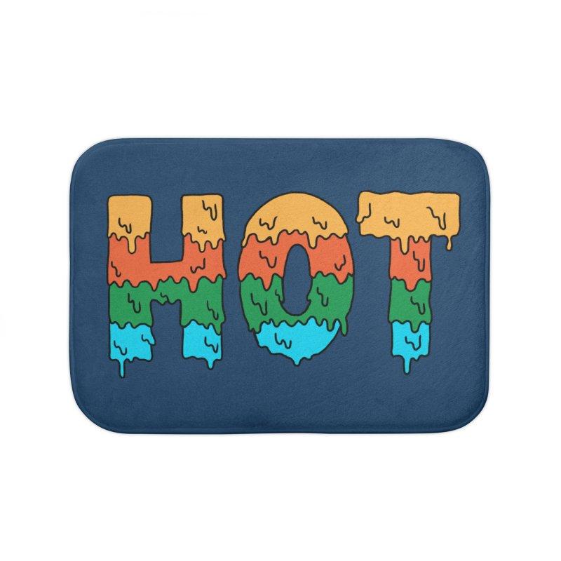 hot Home Bath Mat by coffeeman's Artist Shop
