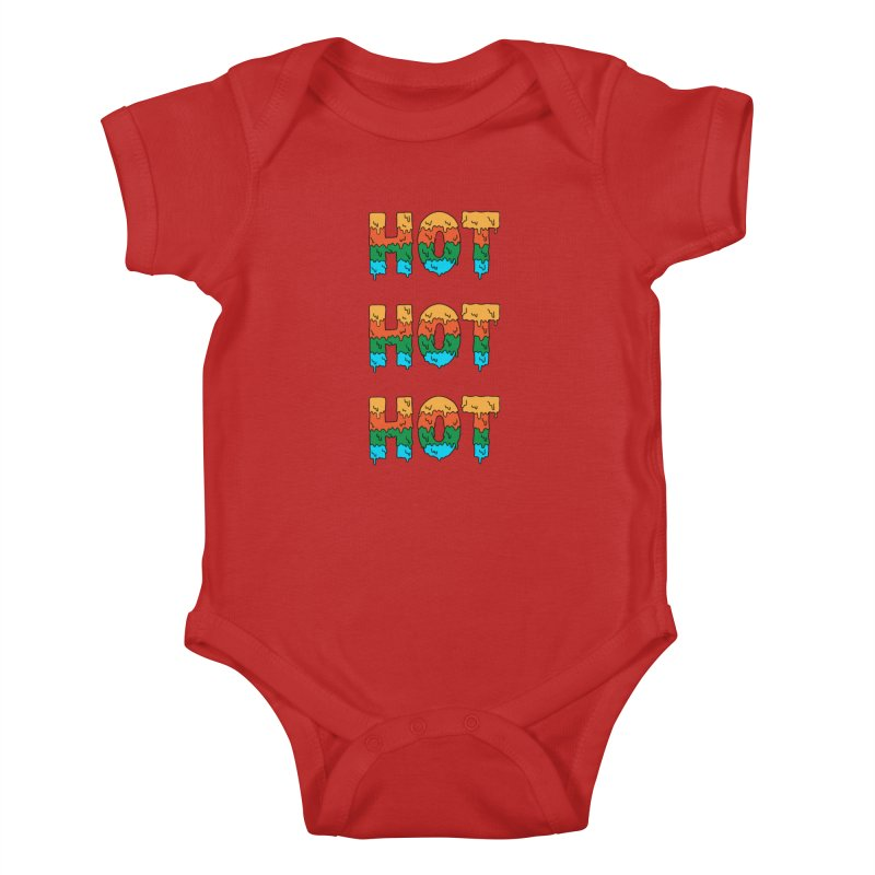 POP CULTURE Kids Baby Bodysuit by coffeeman's Artist Shop