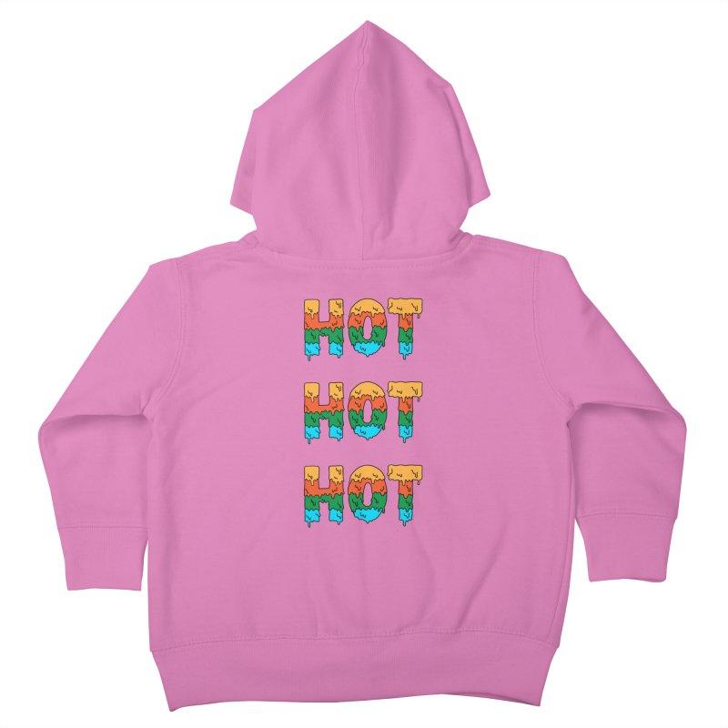 POP CULTURE Kids Toddler Zip-Up Hoody by coffeeman's Artist Shop