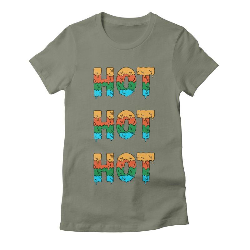POP CULTURE Women's Fitted T-Shirt by coffeeman's Artist Shop
