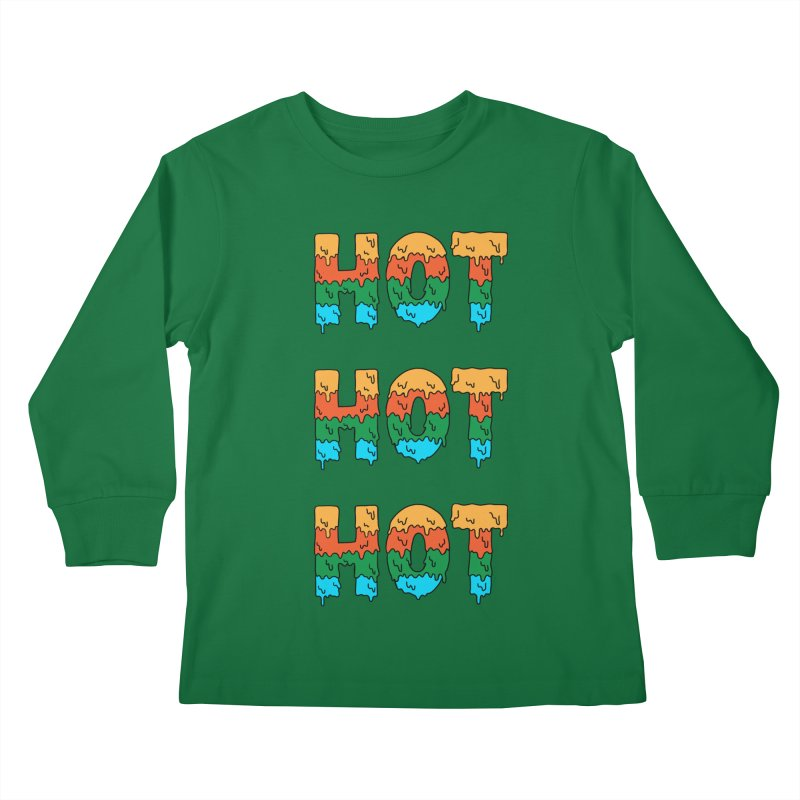 POP CULTURE Kids Longsleeve T-Shirt by coffeeman's Artist Shop