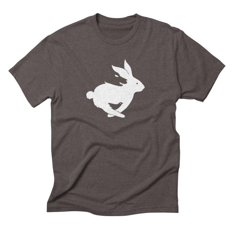animals Men's Triblend T-Shirt by coffeeman's Artist Shop
