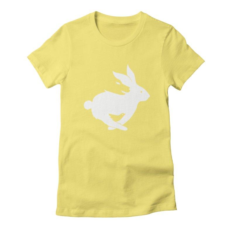 animals Women's Fitted T-Shirt by coffeeman's Artist Shop