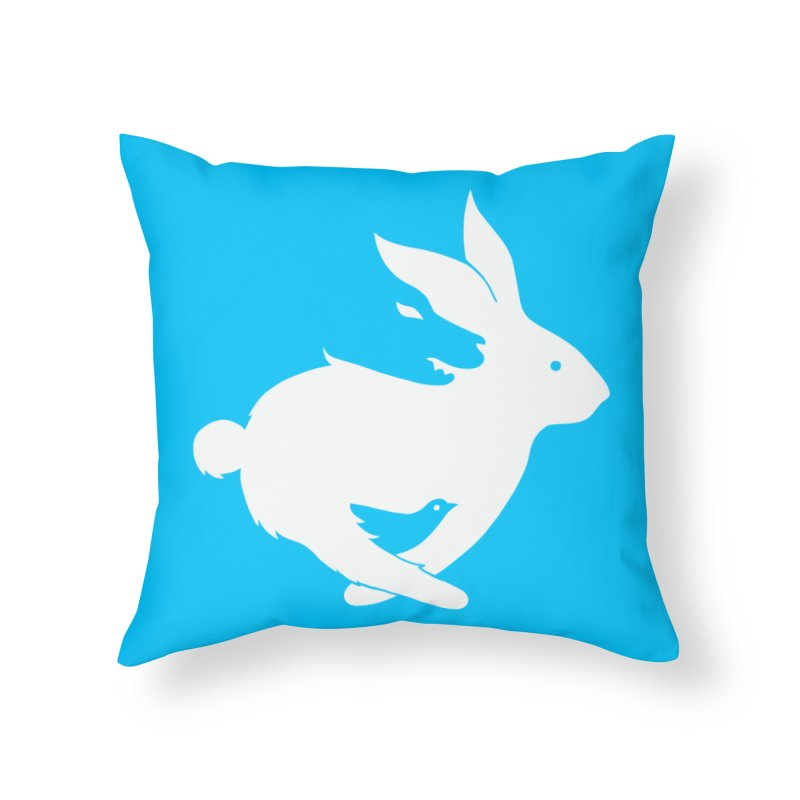 animals Home Throw Pillow by coffeeman's Artist Shop