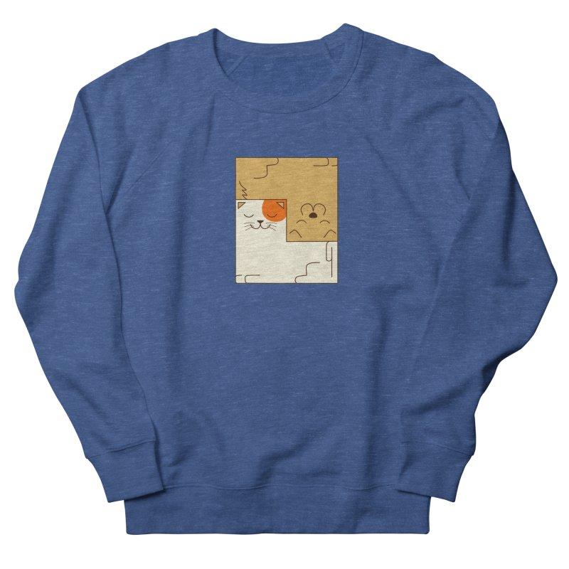Cat and Dog Men's Sweatshirt by coffeeman's Artist Shop