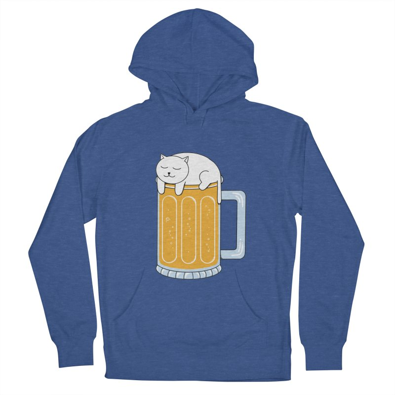 beer Men's French Terry Pullover Hoody by coffeeman's Artist Shop