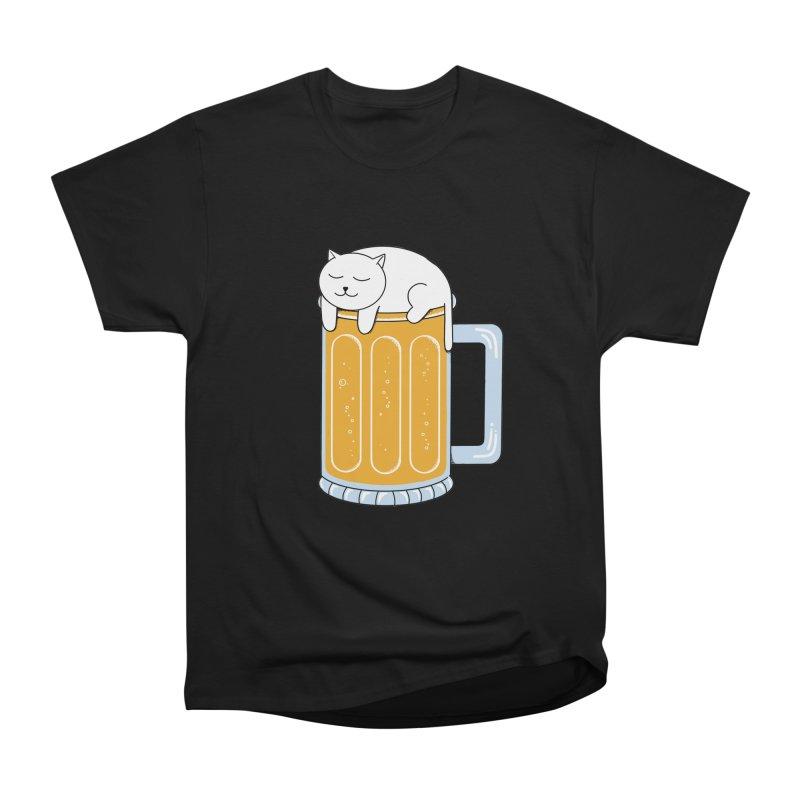 beer Men's Heavyweight T-Shirt by coffeeman's Artist Shop