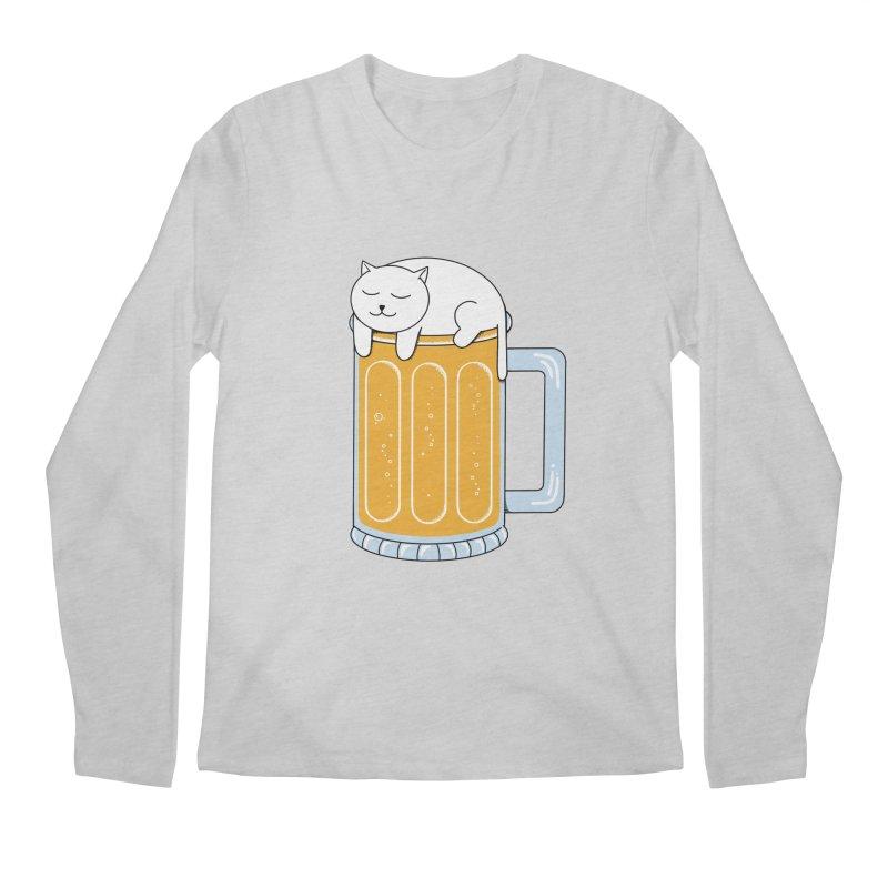 beer Men's Regular Longsleeve T-Shirt by coffeeman's Artist Shop