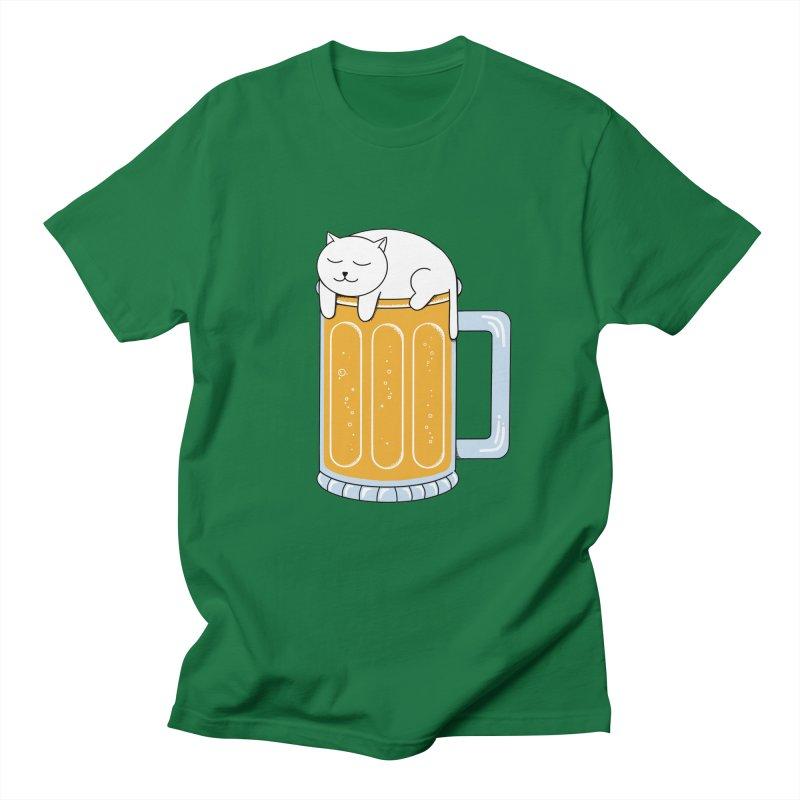 beer Men's Regular T-Shirt by coffeeman's Artist Shop
