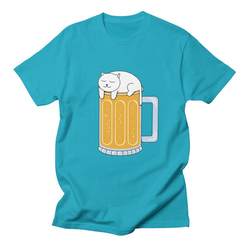 beer Women's Regular Unisex T-Shirt by coffeeman's Artist Shop