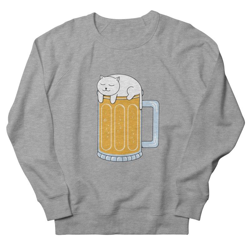 beer Women's French Terry Sweatshirt by coffeeman's Artist Shop