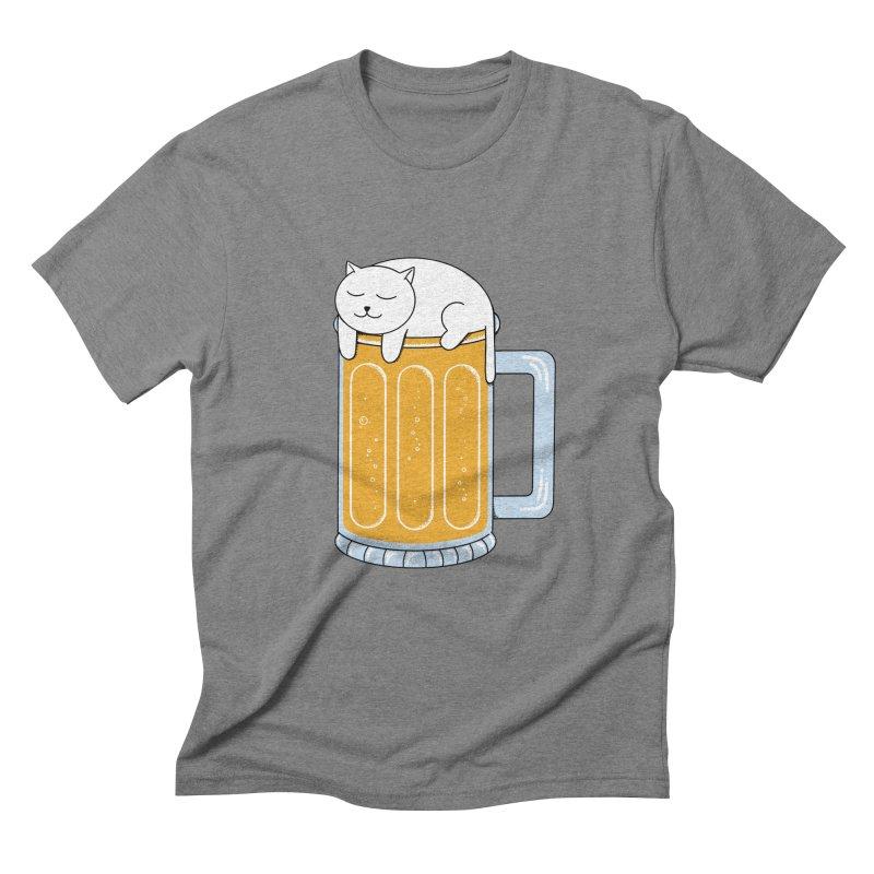 beer Men's Triblend T-Shirt by coffeeman's Artist Shop