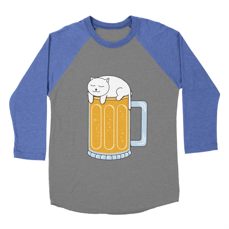 beer Men's Baseball Triblend Longsleeve T-Shirt by coffeeman's Artist Shop