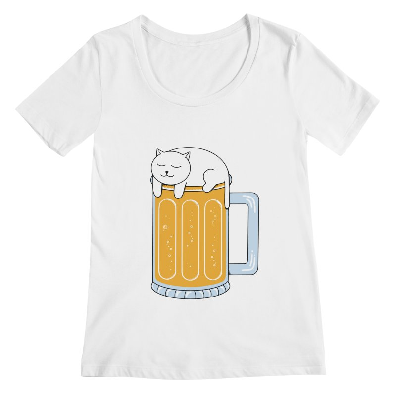 beer Women's Regular Scoop Neck by coffeeman's Artist Shop