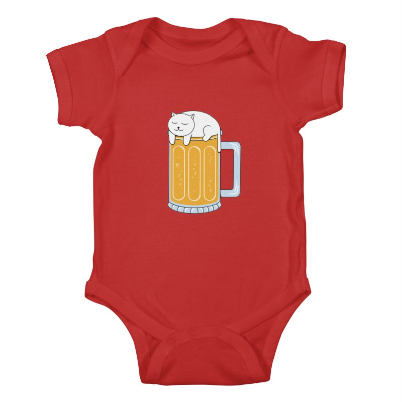 beer Kids Baby Bodysuit by coffeeman's Artist Shop