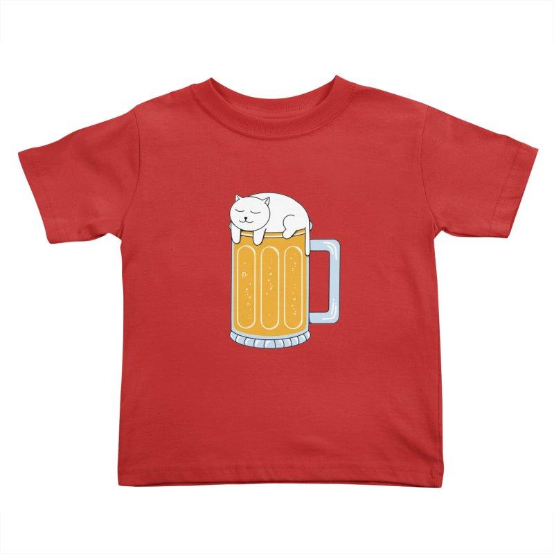 beer Kids Toddler T-Shirt by coffeeman's Artist Shop