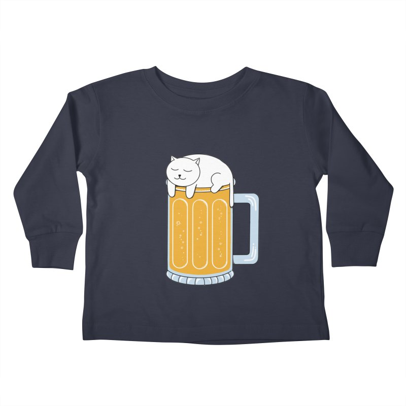 beer Kids Toddler Longsleeve T-Shirt by coffeeman's Artist Shop