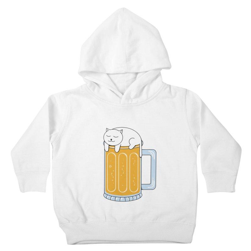 beer Kids Toddler Pullover Hoody by coffeeman's Artist Shop