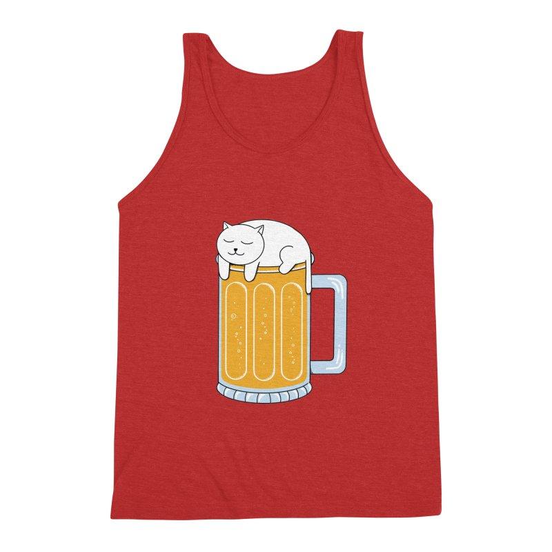 beer Men's Triblend Tank by coffeeman's Artist Shop