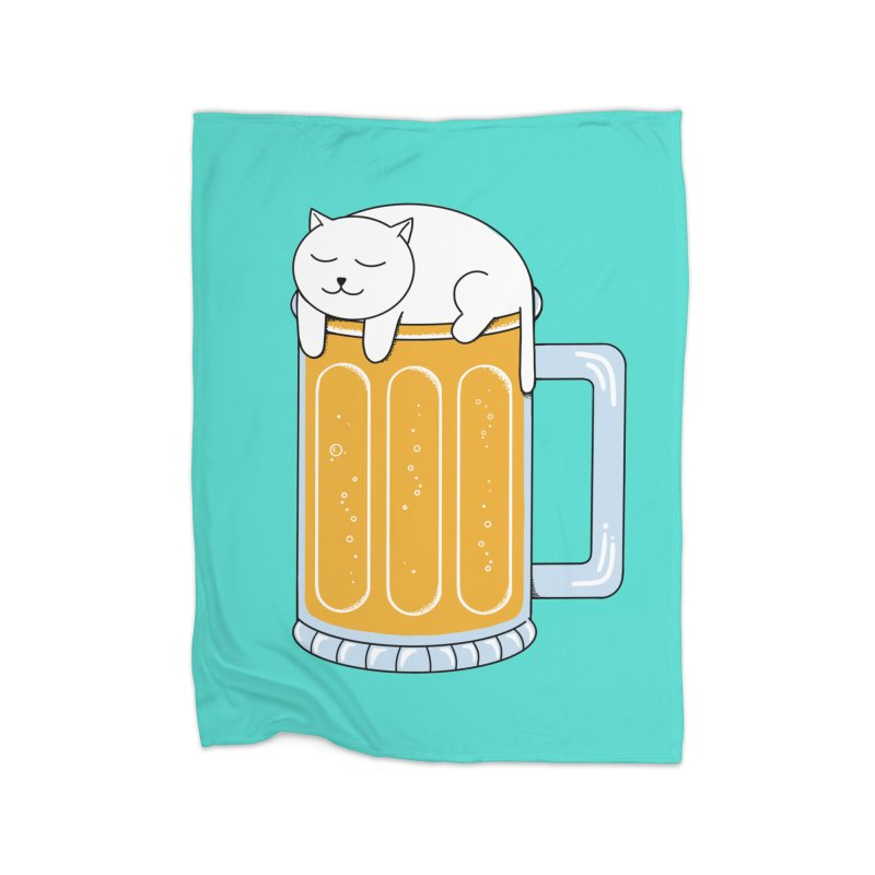 beer Home Blanket by coffeeman's Artist Shop