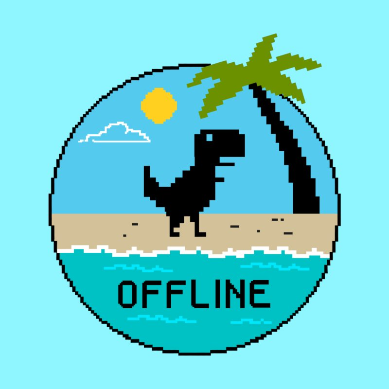 Dinosaur offline by coffeeman's Artist Shop