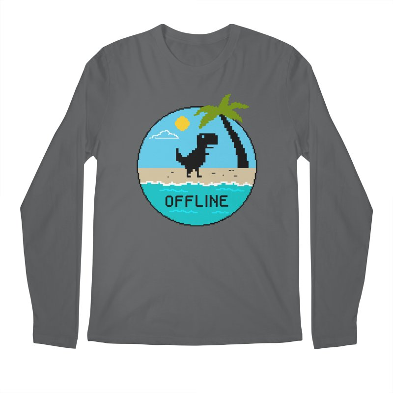 offline Men's Regular Longsleeve T-Shirt by coffeeman's Artist Shop