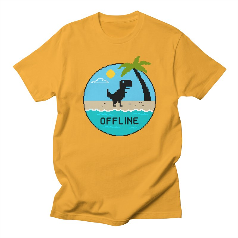 offline Men's Regular T-Shirt by coffeeman's Artist Shop