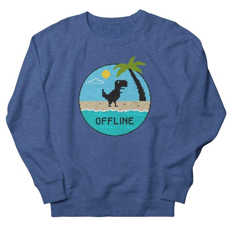 offline Women's French Terry Sweatshirt by coffeeman's Artist Shop