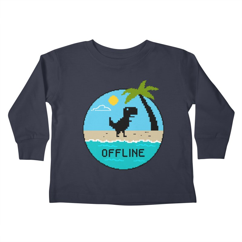 Nature Kids Toddler Longsleeve T-Shirt by coffeeman's Artist Shop