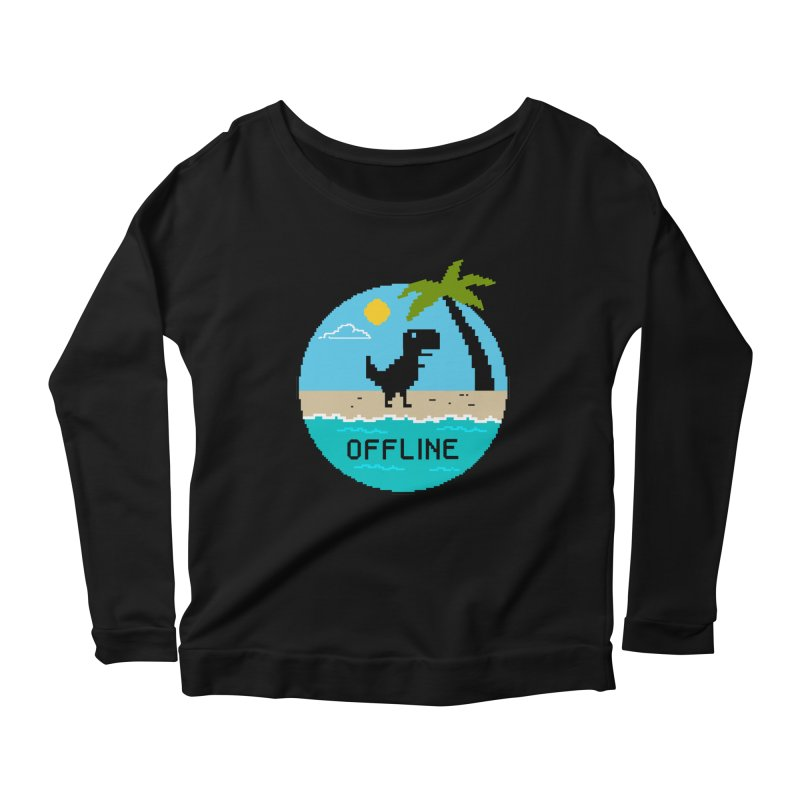 Nature Women's Scoop Neck Longsleeve T-Shirt by coffeeman's Artist Shop