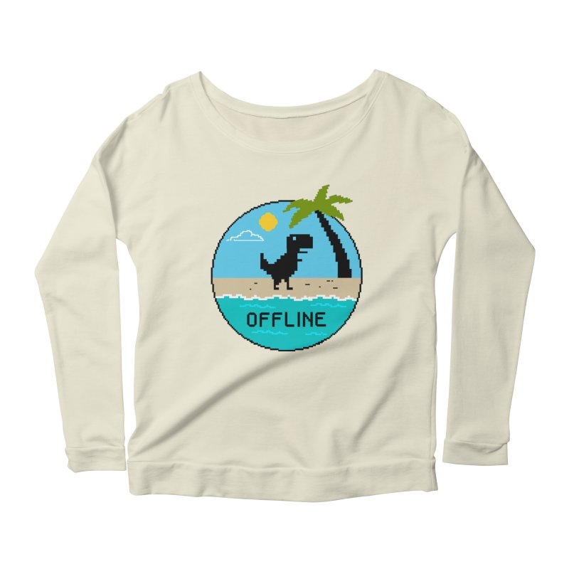 Nature Women's Scoop Neck Longsleeve T-Shirt by coffeeman's Artist Shop