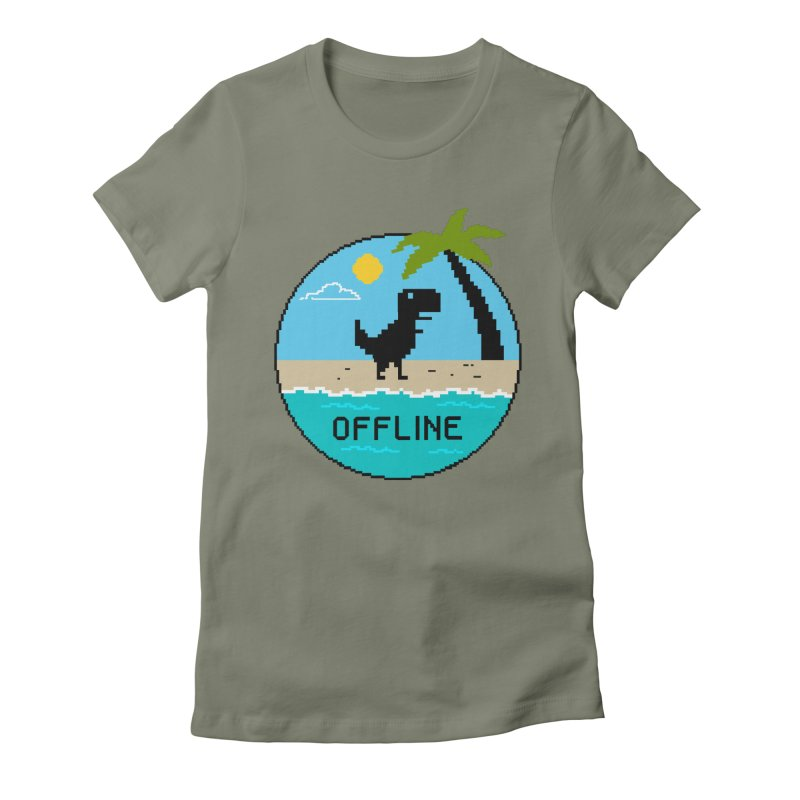 Nature Women's Fitted T-Shirt by coffeeman's Artist Shop