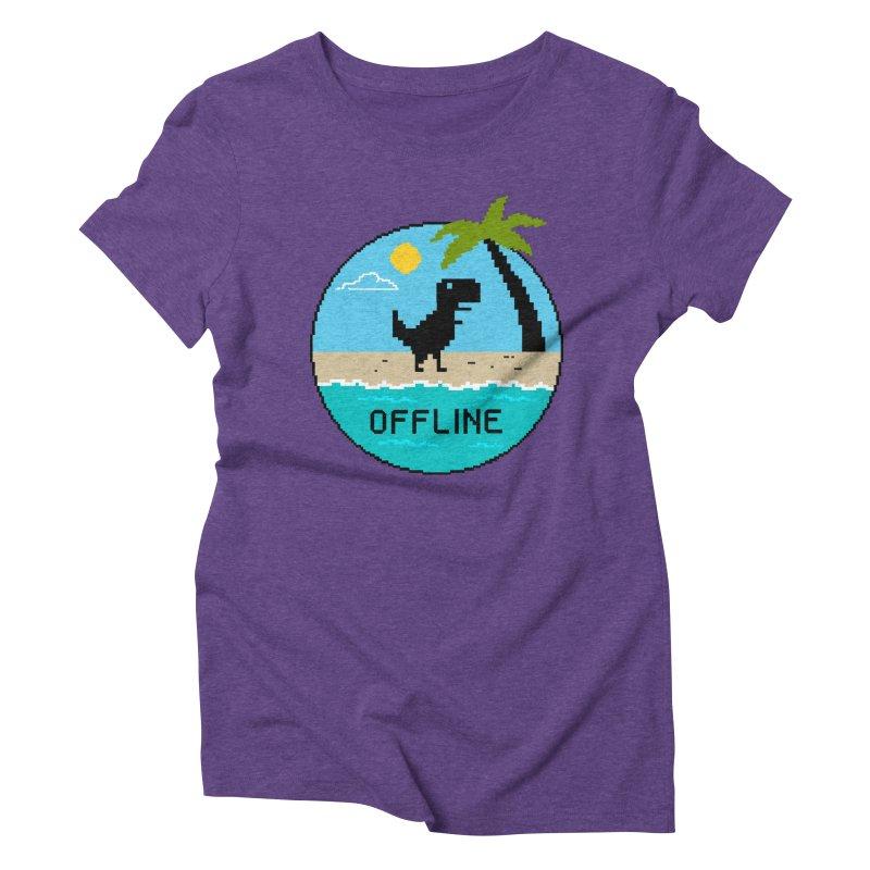 Nature Women's Triblend T-Shirt by coffeeman's Artist Shop