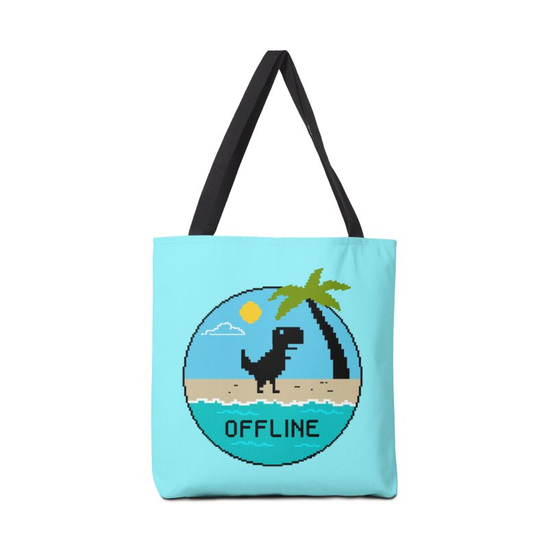 offline Accessories Tote Bag Bag by coffeeman's Artist Shop