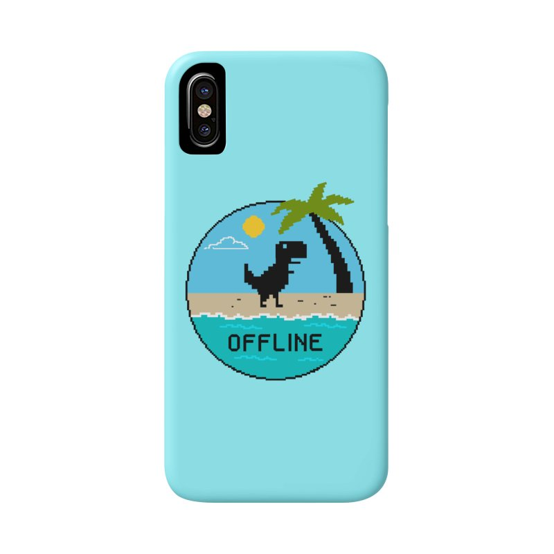 offline Accessories Phone Case by coffeeman's Artist Shop