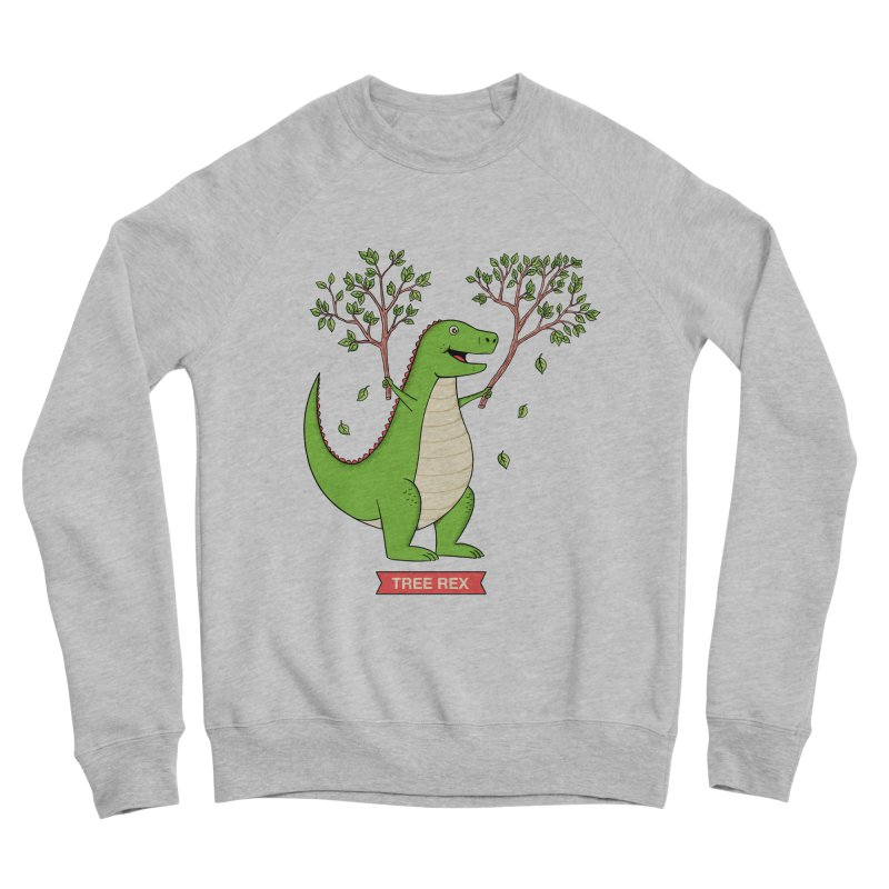 Tree Rex Women's Sponge Fleece Sweatshirt by coffeeman's Artist Shop