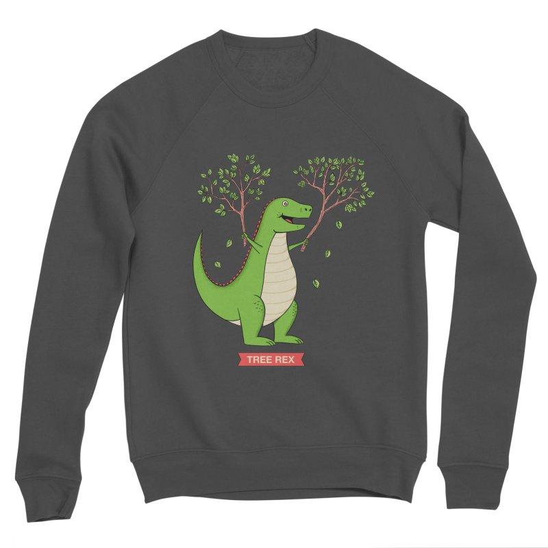 Tree Rex Women's Sponge Fleece Sweatshirt by coffeeman's Artist Shop